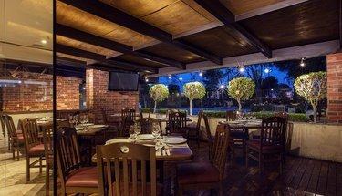 Terrace bar Urban Aeropuerto Ciudad de México Hotel Mexico City