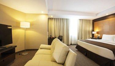 Jr Suite room Urban Aeropuerto Ciudad de México Hotel Mexico City