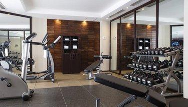Fitness Center Urban Aeropuerto Ciudad de México Hotel Mexico City